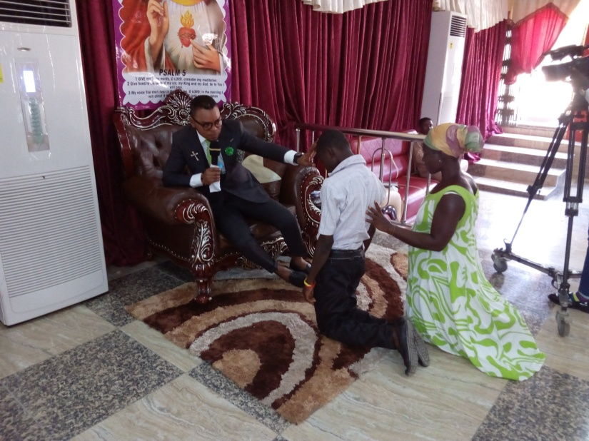 ​Angel Obinim delivered a boy who has been wetting bed for 15 years